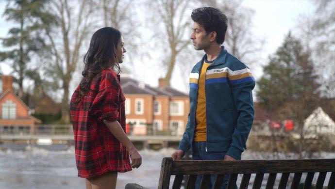 Anya Singh and Nakuul Mehta in NKYBF still
