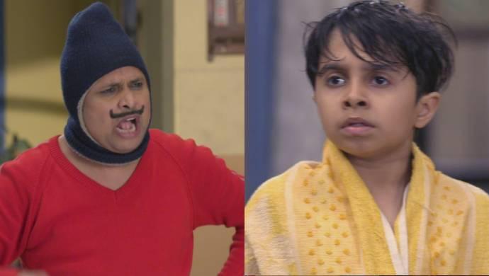 Happu and Hritik from Happu Ki Ultan Paltan