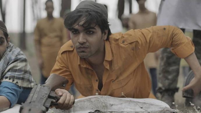 Shoaib Kabeer as Ajmal Kasab in State of Siege