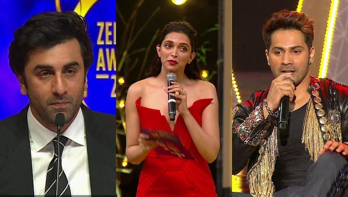Ranbir, Deepika and Varun
