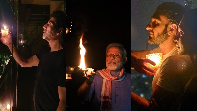 Celebs from ZEE5 Shows and films light a candle at 9 PM