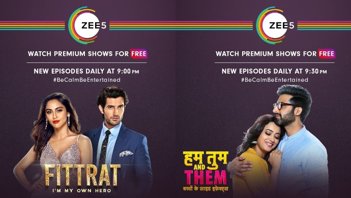 Fittrat and Hum Tum And Them Free on ZEE5