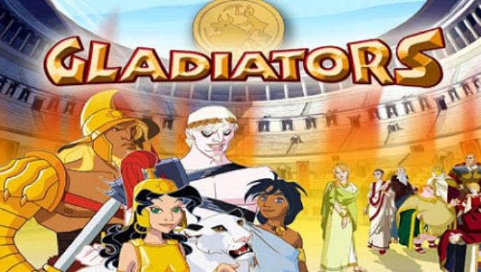 Gladiators animated cartoon on ZEE5