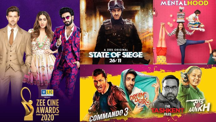 High Five On ZEE5 Award Nominees for March 2020