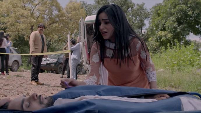 Still from Ishq Aaj Kal season 4 with Alia and Arshad