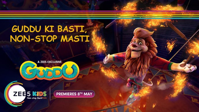 Animated Original series Guddu on ZEE5