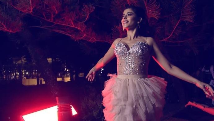 Anisha Victor on the sets of REJCTX 2