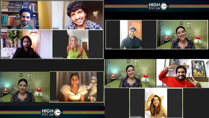 High Five on ZEE5 Awards - Zoom call (1)