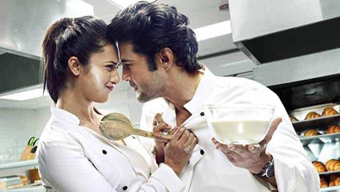 Rajeev Khandelwal with Divyanka Tripathi in Coldd Lassi Aur Chicken Masala