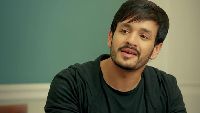 Akhil Akkineni In The Introductory Scene From Mr Majnu