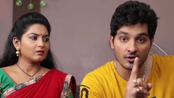 Ali Reza And Pallavi Ramisetty As Vamsi And Vasundhara In Maate Mantramu