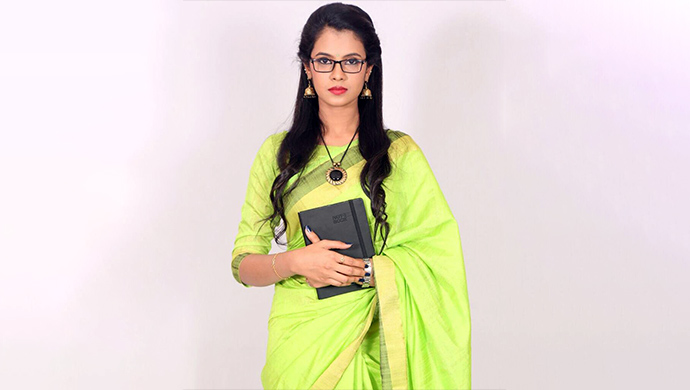 Anusha Hedge in a saree