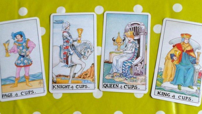 Court Tarot Cards