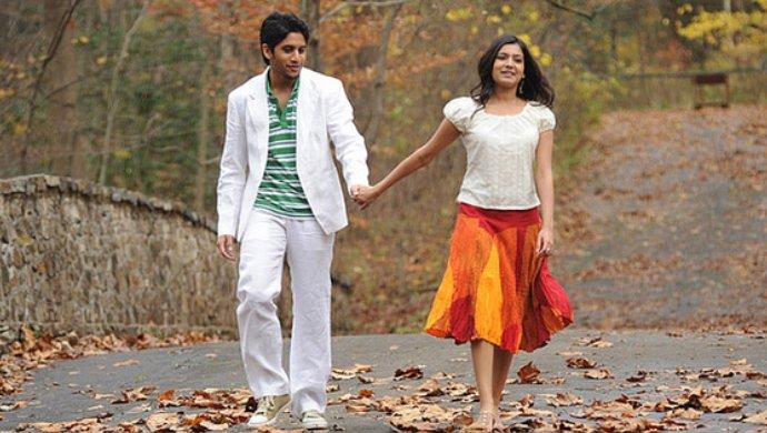 A Still From Ye Maaya Chesave ft. Naga Chaitanya And Samantha