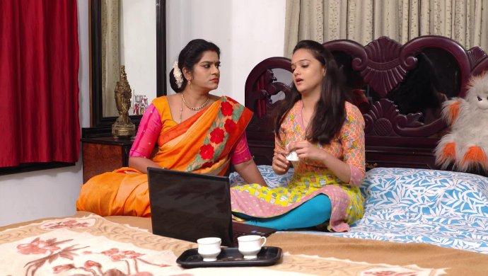 Chaitra and Bhavani In Muddha Mandaram