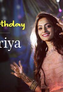 Sree Priya Birthday Post