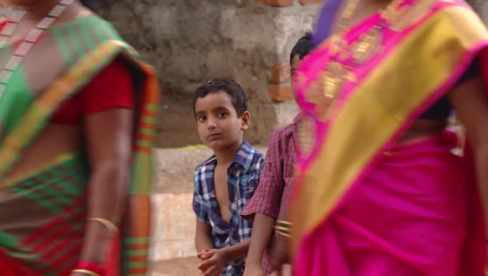 An orphan child In Muddha Mandaram