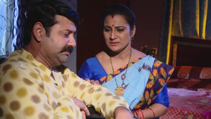 Bharati and Arjun in Ninne Pelladatha