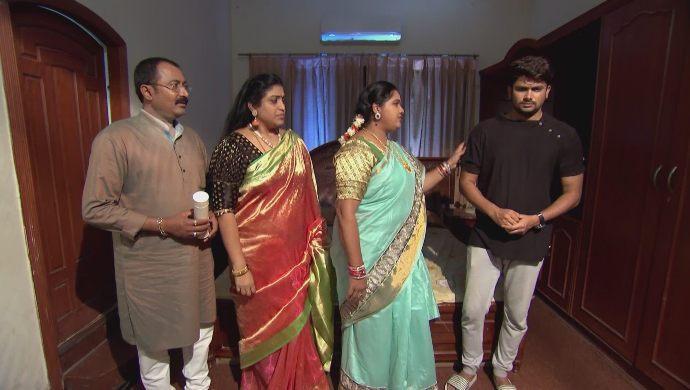Kalpana, Chandrika-Prasad and Jai in Kalyana Vaibhogam