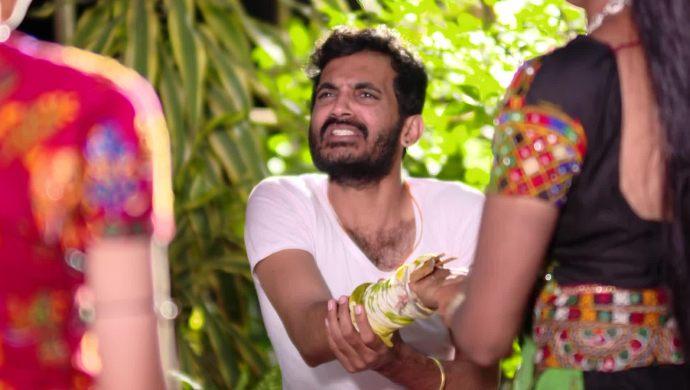 Madhu with Mrudula In Maate Mantramu