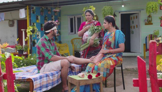 Aditya-Dharani and Hamsa in Akka Chellellu
