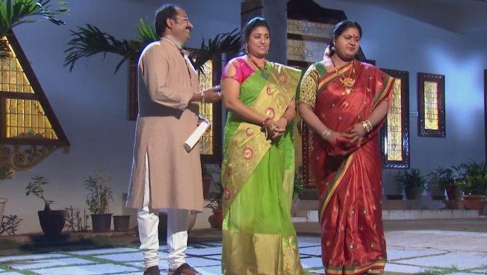 Kalpana, Chandrika and Prasad in Kalyana Vaibhogam