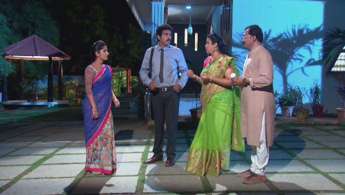 Manga, Chary, Chandrika and Prasad in Kalyana Vaibhogam