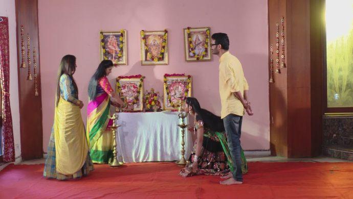 Mansi, Brahmini, Sampangi and Madhu in Ninne Pelladatha
