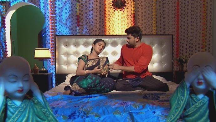 Nithya and Jai in Kalyana Vaibhogam