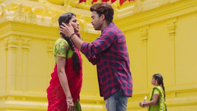 Soundarya and Abhi in Muddha Mandaram