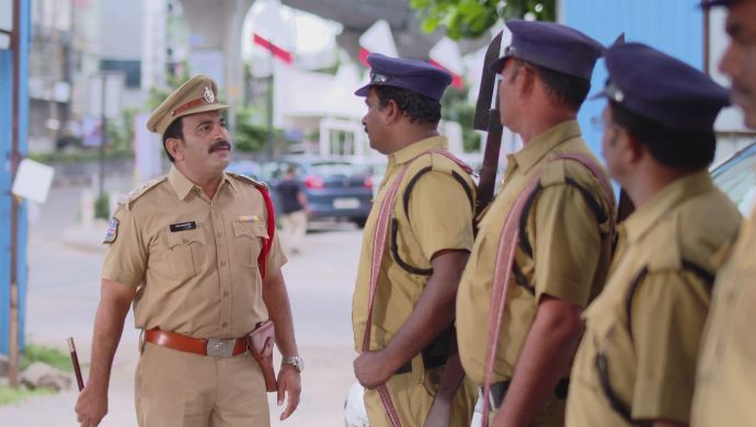 The cops in Muddha Mandaram