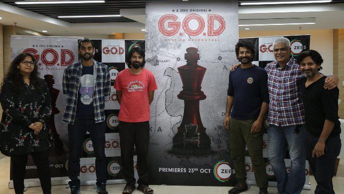 ZEE5 Original GOD Poster launch