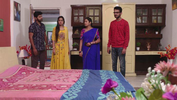Gaurav, Mansi, Madhu and Mrudula in Ninne Pelladatha
