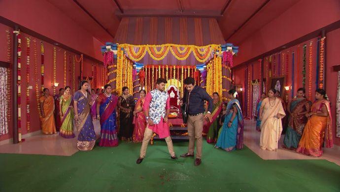 Jai and Chary in Kalyana Vaibhogam