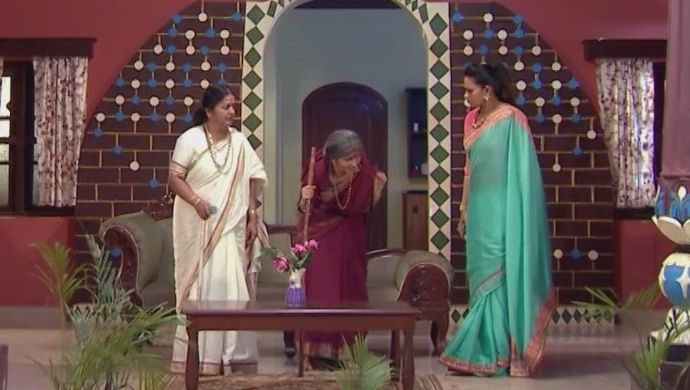 Jeji, Mandara, Swaroopa in Kalyana Vaibhogam