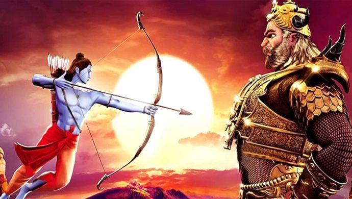 Lord Ram Kills Ravana