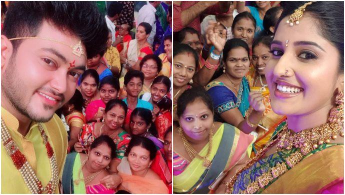 Tulasi and Aditya Wedding in Raktha Sambandham