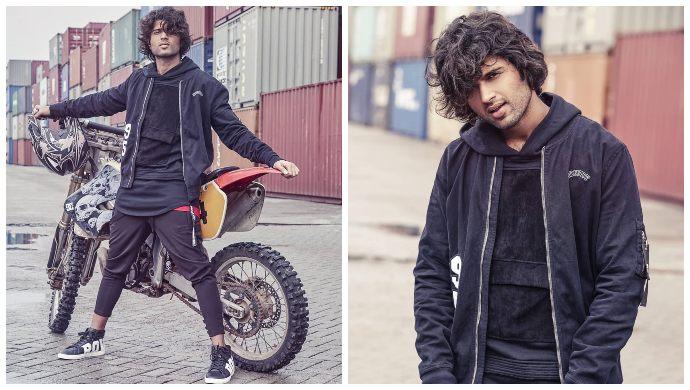 Vijay Devarakonda Rowdy Wear Black