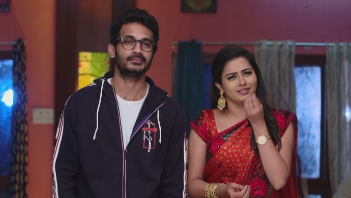 Madhu and Mrudula in Ninne Pelladatha