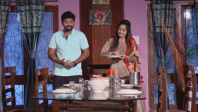 Mansi and Gaurav in Ninne Pelladatha