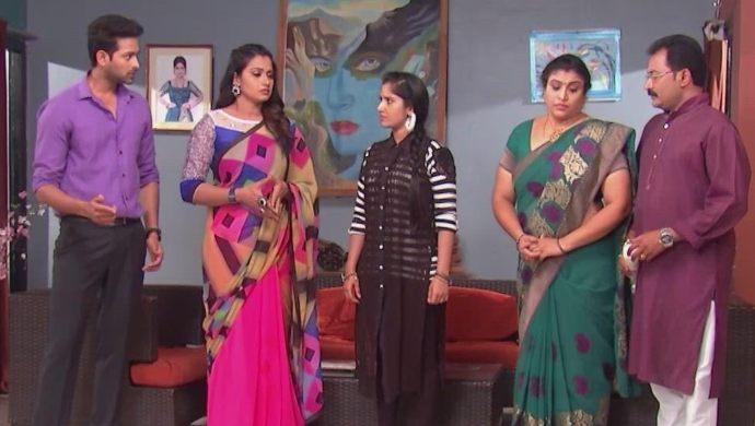 Nithya, Swaroopa, Rana and Chandrika-Prasad in Kalyana Vaibhogam