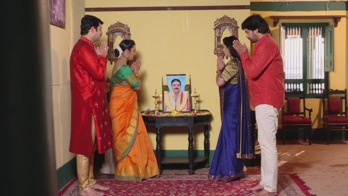 Bharati-Arjun and Brahmini-Krishna Prasad in Ninne Pelladatha