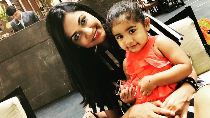 Allu Sneha Reddy and Allu Arha