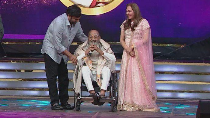 K Vishwanath Garu with Chiranjeevi and Jaya Prada - ZCA Curtain Raiser