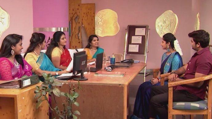 Manga, Jai and the panel in Kalyana Vaibhogam