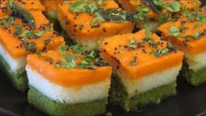 Tri-Coloured Dhokla By Sanjeev Kapoor