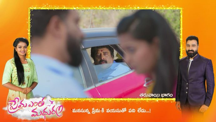 Arya and Anu in Prema Entha Madhuram