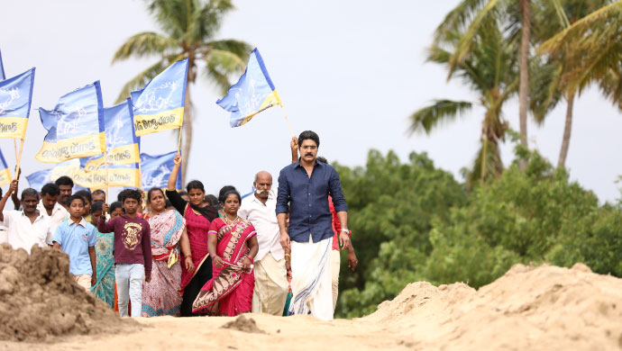 BTS Stills of Chadarangam