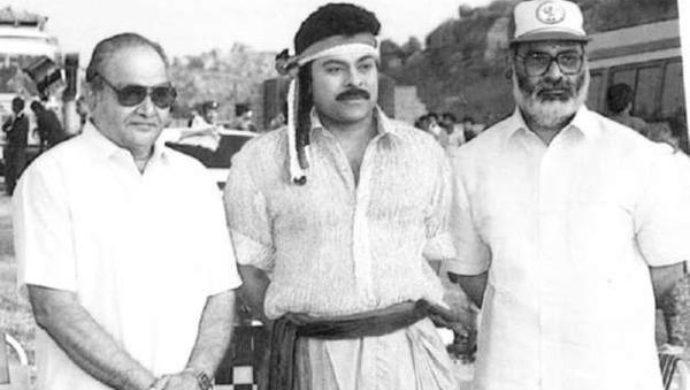 K Vishwanath garu with Chiranjeevi