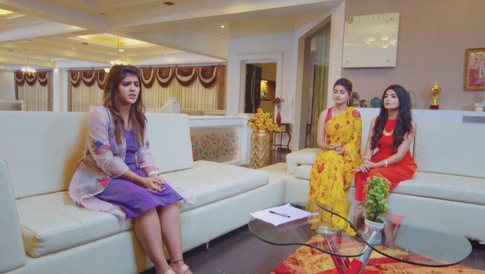 Navya with Vanaja and Maggie in No 1 Kodalu